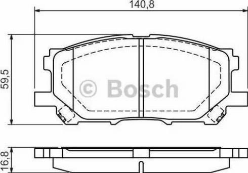 BOSCH 0 986 494 218 - Piduriklotsi komplekt,ketaspidur multiparts.ee