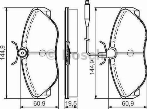 LPR 05P493 - Piduriklotsi komplekt,ketaspidur multiparts.ee