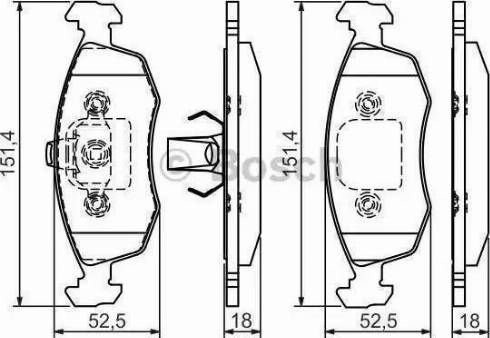 LPR 05P785 - Piduriklotsi komplekt,ketaspidur multiparts.ee