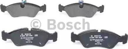 BOSCH 0 986 491 900 - Piduriklotsi komplekt,ketaspidur multiparts.ee