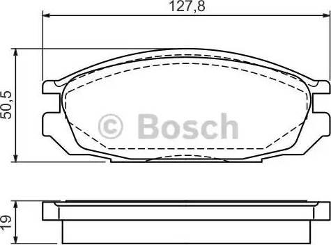 BOSCH 0 986 461 133 - Piduriklotsi komplekt,ketaspidur multiparts.ee