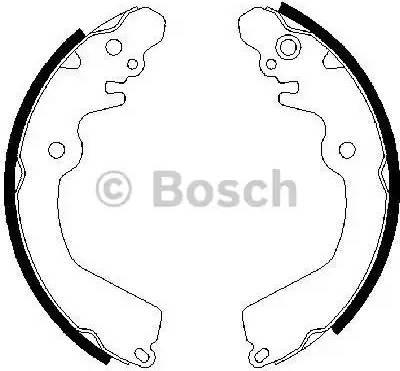BOSCH 0 986 487 451 - Piduriklotside komplekt multiparts.ee