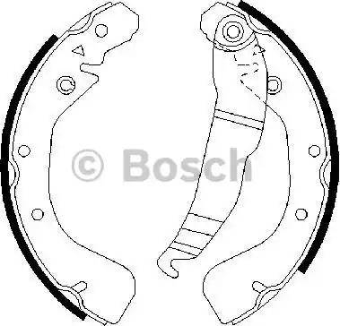 BOSCH 0 986 487 554 - Piduriklotside komplekt multiparts.ee