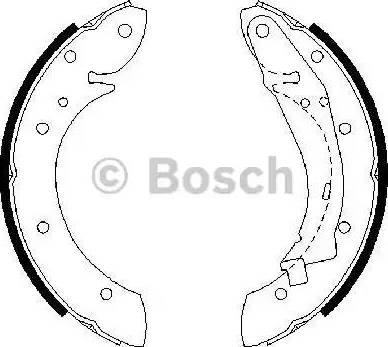 BOSCH 0 986 487 552 - Piduriklotside komplekt multiparts.ee
