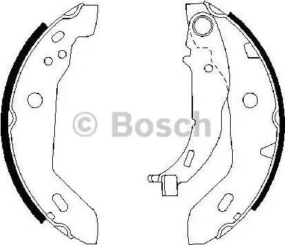 BOSCH 0 986 487 565 - Piduriklotside komplekt multiparts.ee