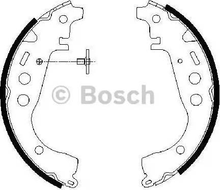 BOSCH 0 986 487 589 - Piduriklotside komplekt multiparts.ee