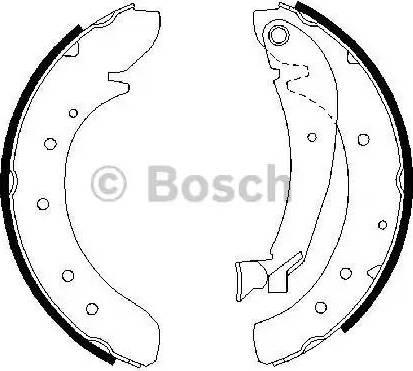 BOSCH 0 986 487 522 - Piduriklotside komplekt multiparts.ee