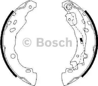 BOSCH 0 986 487 690 - Piduriklotside komplekt multiparts.ee