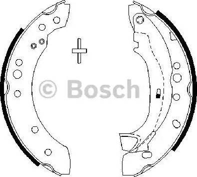 BOSCH 0 986 487 664 - Piduriklotside komplekt multiparts.ee
