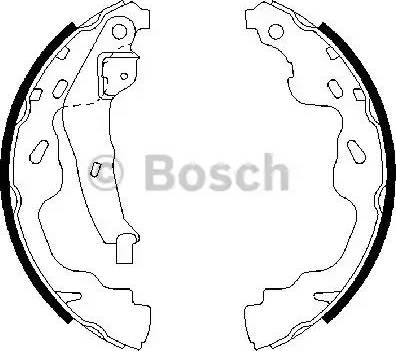 BOSCH 0 986 487 665 - Piduriklotside komplekt multiparts.ee