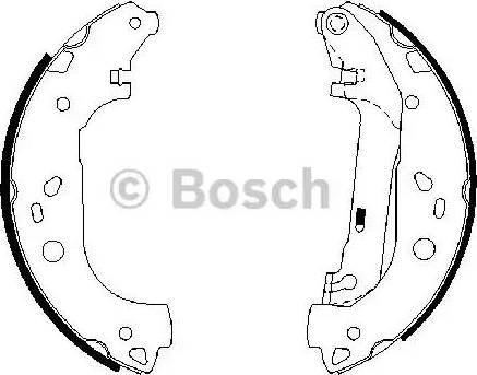 BOSCH 0 986 487 667 - Piduriklotside komplekt multiparts.ee