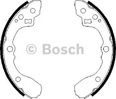 BOSCH 0 986 487 687 - Piduriklotside komplekt multiparts.ee