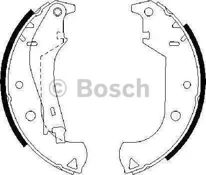 BOSCH 0 986 487 626 - Piduriklotside komplekt multiparts.ee