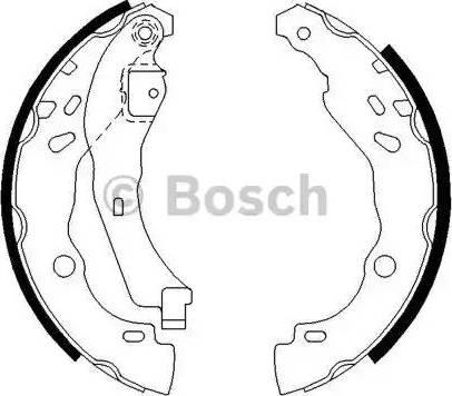 BOSCH 0 986 487 627 - Piduriklotside komplekt multiparts.ee