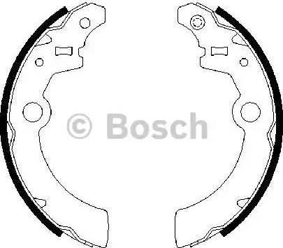 BOSCH 0 986 487 676 - Piduriklotside komplekt multiparts.ee