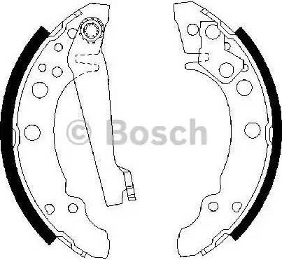 BOSCH 0 986 487 002 - Piduriklotside komplekt multiparts.ee