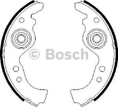 BOSCH 0 986 487 030 - Piduriklotside komplekt multiparts.ee