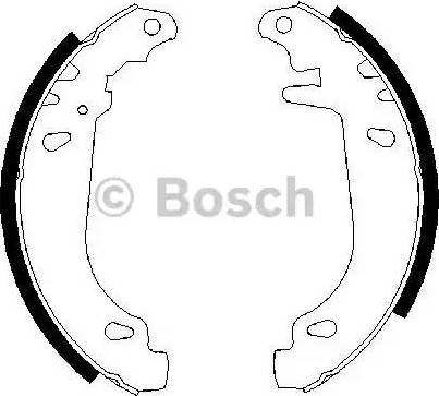 BOSCH 0 986 487 346 - Piduriklotside komplekt multiparts.ee
