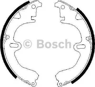 BOSCH 0 986 487 203 - Piduriklotside komplekt multiparts.ee