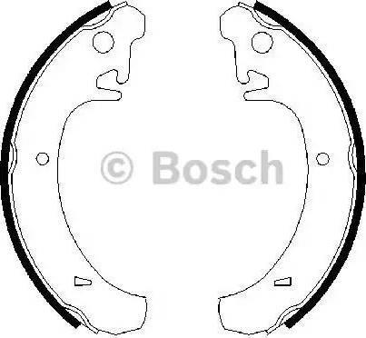 BOSCH 0 986 487 219 - Piduriklotside komplekt multiparts.ee