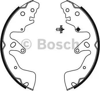 BOSCH 0 986 487 756 - Piduriklotside komplekt multiparts.ee