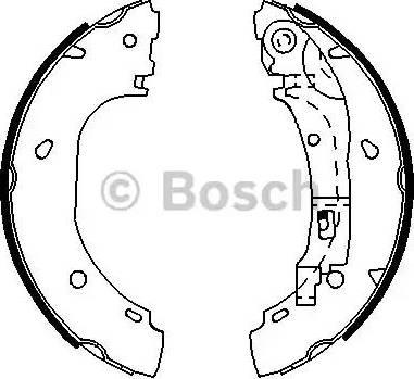 BOSCH 0 986 487 701 - Piduriklotside komplekt multiparts.ee