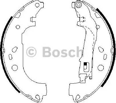 BOSCH 0 986 487 717 - Piduriklotside komplekt multiparts.ee