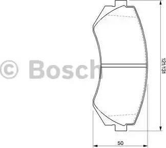 BOSCH 0 986 424 489 - Piduriklotsi komplekt,ketaspidur multiparts.ee