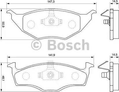 BOSCH 0 986 424 502 - Piduriklotsi komplekt,ketaspidur multiparts.ee