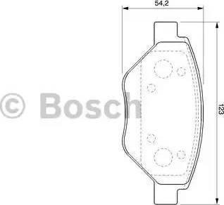 BOSCH 0 986 424 774 - Piduriklotsi komplekt,ketaspidur multiparts.ee