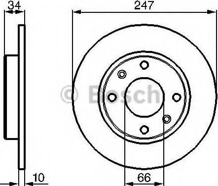 BOSCH 0 986 479 C54 - Piduriketas multiparts.ee