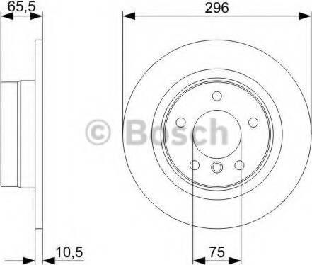 BOSCH 0 986 479 C55 - Piduriketas multiparts.ee