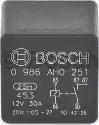 BOSCH 0 986 AH0 251 - Relee, ventilaator multiparts.ee