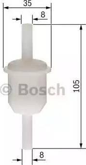 BOSCH 0 450 904 058 - Kütusefilter multiparts.ee