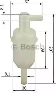 BOSCH 0 450 904 077 - Kütusefilter multiparts.ee