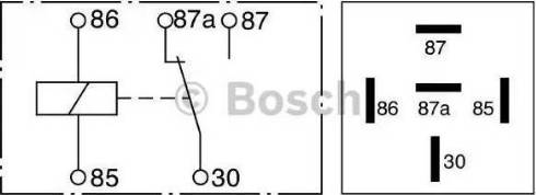 BOSCH 0 332 209 150 - Mitme funktsiooniga relee multiparts.ee