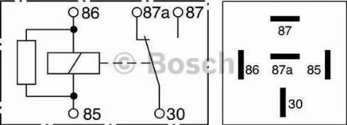 BOSCH 0 332 209 206 - Relee, ABS multiparts.ee