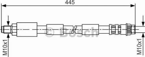 BOSCH 1 987 476 912 - Pidurivoolik multiparts.ee