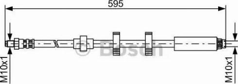 BOSCH 1 987 476 979 - Pidurivoolik multiparts.ee