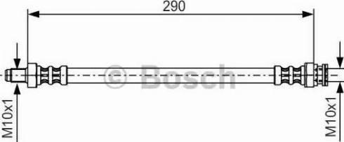 BOSCH 1 987 476 688 - Pidurivoolik multiparts.ee