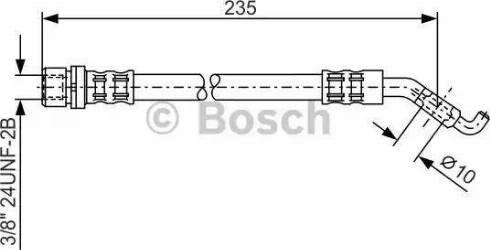 BOSCH 1 987 476 207 - Pidurivoolik multiparts.ee