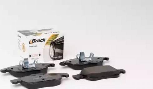 Breck 24538 00 701 00 - Piduriklotsi komplekt,ketaspidur multiparts.ee