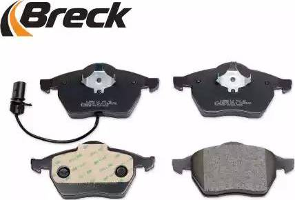 Breck 21849 00 701 10 - Piduriklotsi komplekt,ketaspidur multiparts.ee