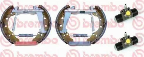 Brembo K 85 036 - Piduriklotside komplekt multiparts.ee