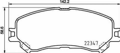 Brembo P 68 067 - Piduriklotsi komplekt,ketaspidur multiparts.ee