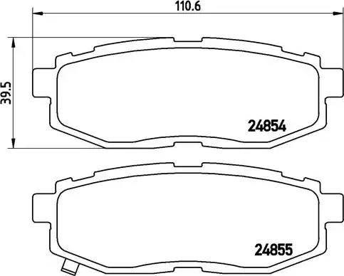 Brembo P 78 018 - Piduriklotsi komplekt,ketaspidur multiparts.ee