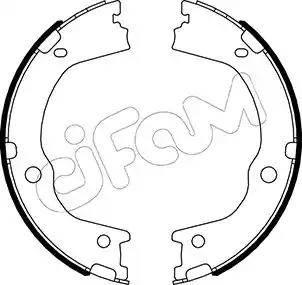 Cifam 153-498 - Piduriklotside komplekt,seisupidur multiparts.ee