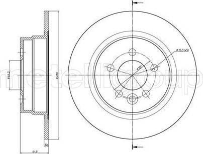 Cifam 800-644 - Piduriketas multiparts.ee