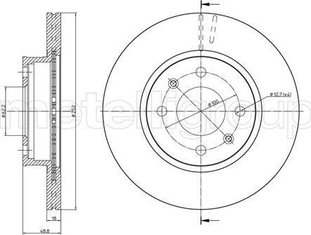 Cifam 800-1104 - Piduriketas multiparts.ee