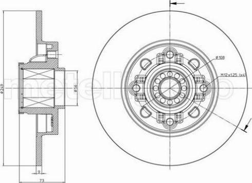Cifam 800-1394 - Piduriketas multiparts.ee